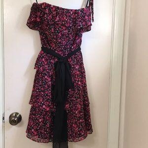 WHBM ruffle dress